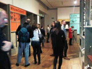 Extraord!nary exhibition visitors