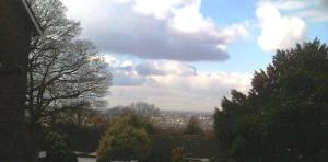 London from the top of Sydenham Hill