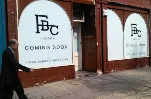 the Barratt Campbell hoarding, shop to follow soon