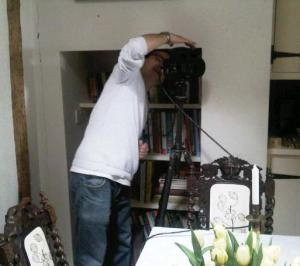 Just getting it in focus, Mr Chung at work