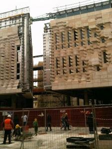 Valletta re-build underway