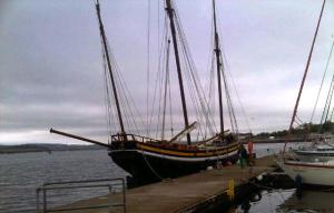 The Grayhound Lugger in Plymouth