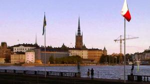 On an early evening stroll through Stockholm