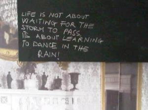 Mineheart's words of wisdom..a thought for the day?