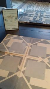 new encaustic tiles from Bert & May